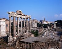 Roman Forum, Rome, Italy. Royalty Free Stock Photo