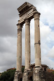 Roman Forum in Rome, Italy. The Roman ruins of the Forum of Caesar in Rome, Italy royalty free stock photo