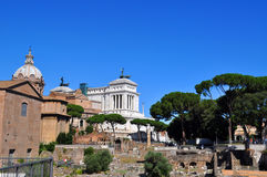 Roman Forum, Rome Italy Royalty Free Stock Images