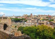 Roman Forum in Rome, Italy Stock Photography