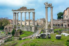 Roman Forum, Rome, Italy stock photos