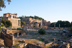 The Roman Forum. Rome, Italy. Royalty Free Stock Photos