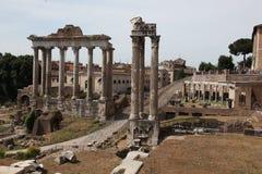 Roman Forum in Rome Royalty Free Stock Photo