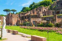 Roman Forum in Rome Stock Photography