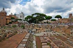 The Roman forum, Rome, Italy Stock Photo