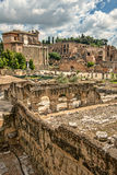 The Roman Forum in Rome. Royalty Free Stock Photography