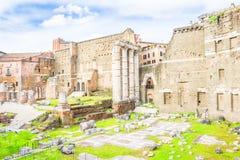 Roman Forum in Rome, Italy Stock Image