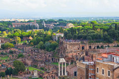 Roman Forum in Rome Royalty Free Stock Images