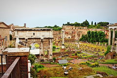 Roman Forum Rome Italy Images stock