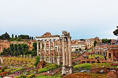 Roman Forum Rome Italy Photographie stock