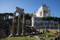 Roman Forum in Rome Stock Photos