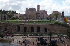 Roman forum. In rome, Italy Stock Images