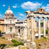 Roman Forum, Rome, Italy Stock Images