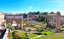 Roman Forum, Rome Italy Royalty Free Stock Photo