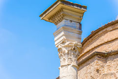 Roman Forum in Rome, Italy. Royalty Free Stock Image