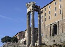 The roman forum rome Italy europe Royalty Free Stock Photo