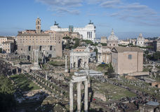 The roman forum rome Italy europe Stock Images
