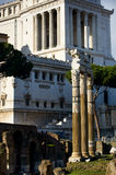 Roman Forum in Rome, Italy Royalty Free Stock Images
