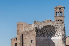 The Roman Forum in Rome, Italy. Royalty Free Stock Photos