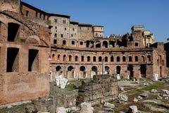 Roman Forum Rome Italy. ROME, ITALY JUNE, 28th: The ancient ruins of the Roman Forum in Rome, Italy on June 28th, 2015 Stock Image