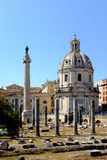Roman Forum Rome Italy Royalty Free Stock Photography
