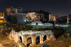 Roman Forum in Rome, Italy Royalty Free Stock Photos