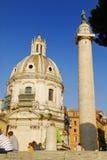 ROMAN FORUM,ROME,ITALY- NOVEMBER 4 Royalty Free Stock Photo