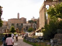 The Roman Forum, Rome, Italy Royalty Free Stock Photo