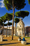 ROMAN FORUM,ROME,ITALY-SEPTEMBER 24 Royalty Free Stock Photos
