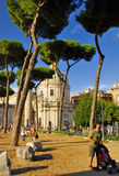 ROMAN FORUM,ROME,ITALY-SEPTEMBER 24 Royalty Free Stock Image