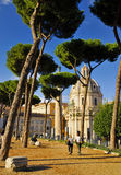 ROMAN FORUM,ROME,ITALY-SEPTEMBER 24 Stock Photography