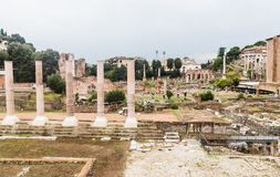 Roman Forum in Rome, Italy. Royalty Free Stock Photos