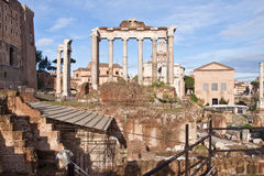 Roman Forum, Rome, Italy Royalty Free Stock Images