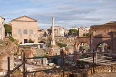 Roman Forum, Rome, Italy Stock Photo