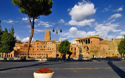 Roman Forum, Rome`s historic center, Italy. Royalty Free Stock Photo