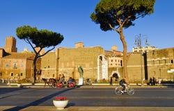 Roman Forum, Rome`s historic center, Italy. Stock Photos