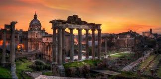 Roman Forum, Rome stock images