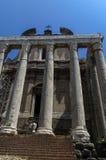 Roman Forum Rome Stock Image