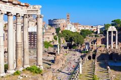 Roman Forum Royalty Free Stock Photos