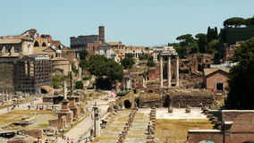 Roman Forum stock video