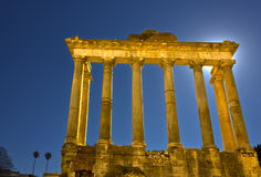 Roman Forum ruins, Rome, Italy. Royalty Free Stock Photo