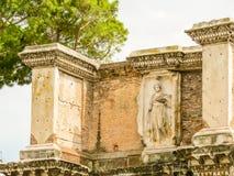 roman forum Ruiny czasy imperium rzymskie Obrazy Stock