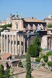 Roman Forum storico immagine stock