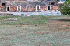 Roman Forum - Tessalónica Imagens de Stock