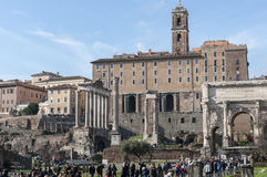 Roman Forum Royalty Free Stock Image