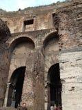 Roman Forum van Th Stock Afbeelding
