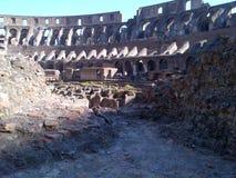 Roman Forum van Th Stock Afbeeldingen