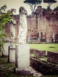 Roman Forum - Vestaloskulder arkivbild