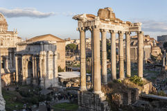 The Roman Forum Stock Photography