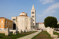 The Roman Forum in Zadar Royalty Free Stock Photos
